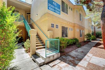 Spring Valley Condo/Townhouse For Sale: 5155 West Tropicana Avenue #1087