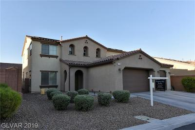 North Las Vegas Single Family Home For Sale: 1316 Cactus Grove Court