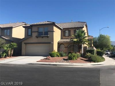 North Las Vegas Single Family Home For Sale: 4104 Garden Genoa Avenue