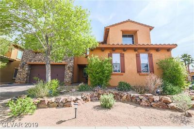 Henderson Single Family Home For Sale: 500 Via Del Foro Drive