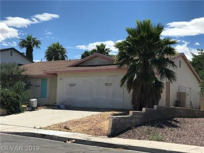 Las Vegas Single Family Home For Sale: 2841 Artic Street