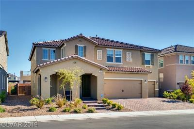 Henderson Single Family Home For Sale: 3151 Tronzano