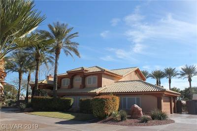 Boulder City, Henderson, Las Vegas, North Las Vegas Single Family Home For Sale: 5780 Oquendo Road