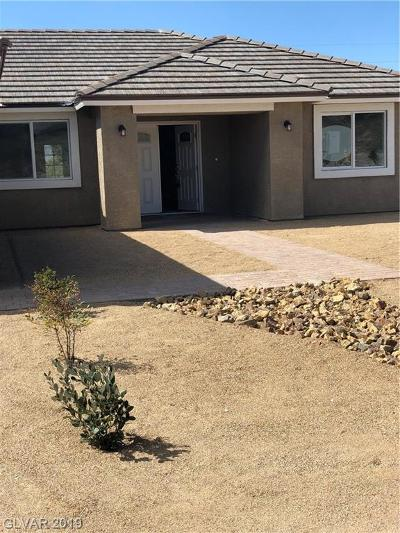 Pahrump NV Single Family Home For Sale: $249,900