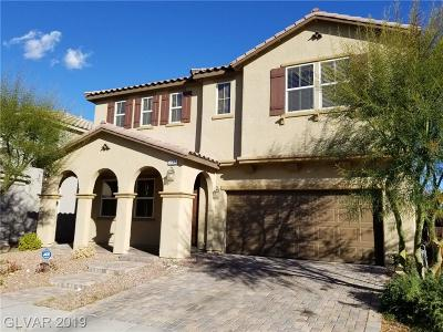Clark County Single Family Home For Sale: 7552 Fontera Court