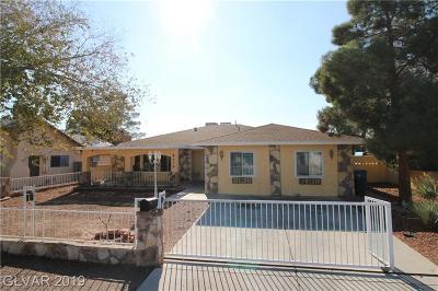 Clark County Single Family Home For Sale: 5413 Avenida Vaquero