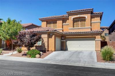 North Las Vegas Single Family Home For Sale: 2220 Mountain Rail Drive