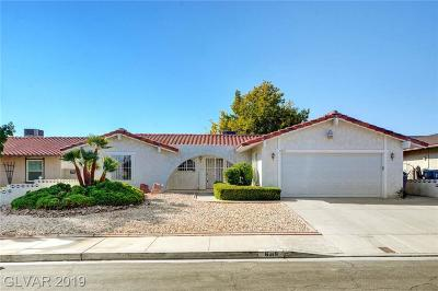 Spring Valley Single Family Home For Sale: 6319 Explorer Drive