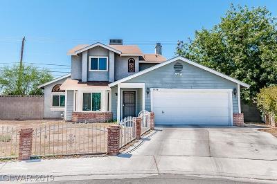 North Las Vegas Single Family Home For Sale: 5924 Kelitabb Court