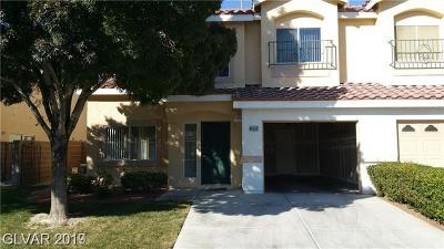 Centennial Hills Condo/Townhouse Under Contract - No Show: 6432 Sierra Diablo Ave Avenue