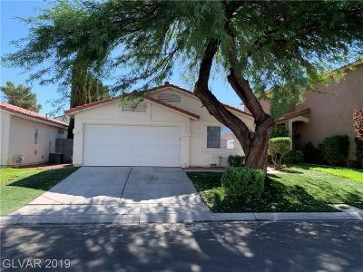 Silverado Ranch Single Family Home For Sale: 9346 Graceful Gold Street
