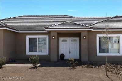 Pahrump NV Single Family Home For Sale: $314,900