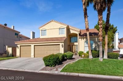 Las Vegas Single Family Home For Sale: 7811 Mount Angel Drive