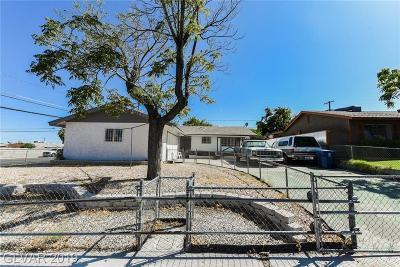 Las Vegas Single Family Home For Sale: 6401 Evergreen Avenue