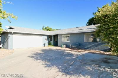 Boulder City Single Family Home For Sale: 109 Wyoming Street