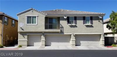 Centennial Hills Condo/Townhouse For Sale: 6152 Calm Breeze Avenue #103