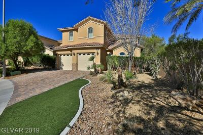 Henderson Single Family Home For Sale: 517 Via Ernesto