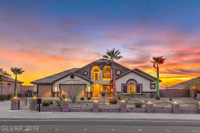 Henderson NV Single Family Home Under Contract - No Show: $839,888