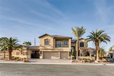 Las Vegas Single Family Home For Sale: 3866 Tent Rocks Court