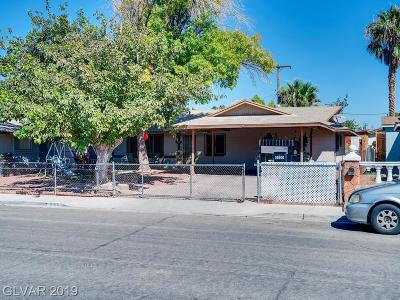 Las Vegas Single Family Home For Sale: 4505 Sunrise Avenue