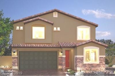 Las Vegas Single Family Home For Sale: 2663 Topaz Blue Street #Lot 63