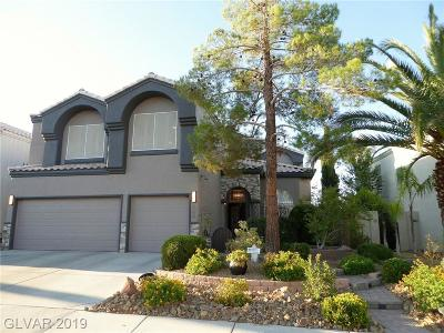 Henderson Single Family Home For Sale: 2104 Club Meadows Drive