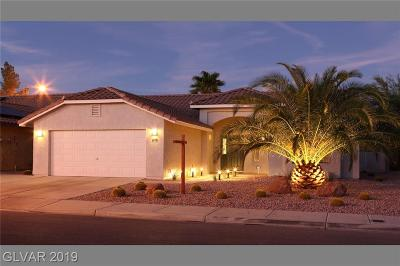 North Las Vegas Single Family Home For Sale: 6118 Marvin Street