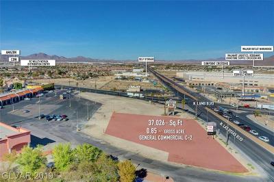 Las Vegas Residential Lots & Land For Sale: 3619 North Las Vegas Boulevard