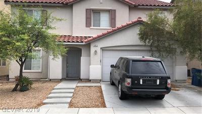 North Las Vegas Single Family Home For Sale: 5013 Granite Creek Court