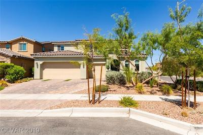 Henderson Single Family Home For Sale: 351 Values Circle