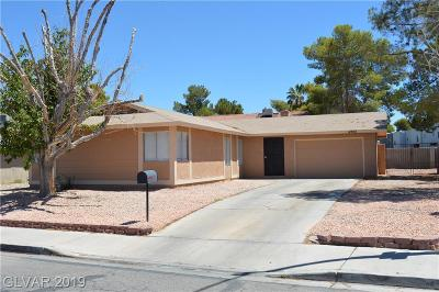Las Vegas Single Family Home For Sale: 4982 Sepulveda Boulevard