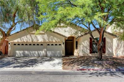 Las Vegas Single Family Home For Sale: 5982 Garthmore Avenue