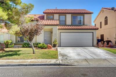 North Las Vegas Single Family Home For Sale: 1735 Ashburn Drive