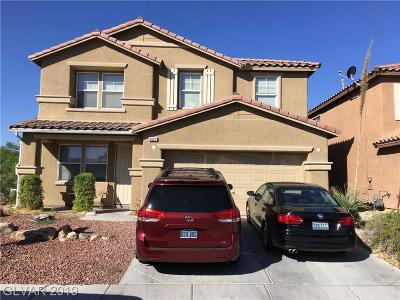 North Las Vegas Single Family Home For Sale: 6625 Evening Grosbeak Place