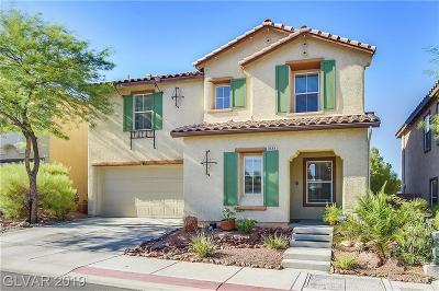 Las Vegas Single Family Home For Sale: 8688 Big Sagebrush Avenue