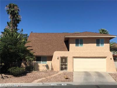 Las Vegas Single Family Home For Sale: 5029 Mesaview Drive