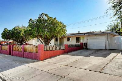 Las Vegas Single Family Home For Sale: 1357 Pyramid Drive