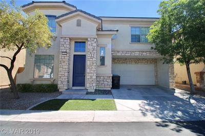 Las Vegas Single Family Home For Sale: 139 Manor House Avenue