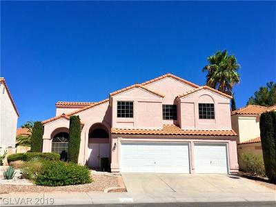 Las Vegas Single Family Home For Sale: 2712 Dune Cove Road