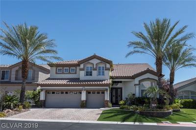 Las Vegas Single Family Home For Sale: 4326 Spooner Lake Circle