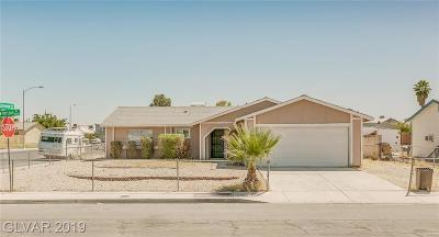 North Las Vegas Single Family Home For Sale: 3780 New Horizon Drive