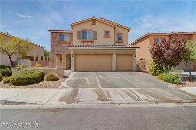 Henderson Single Family Home For Sale: 693 Suguaro Bluffs Street