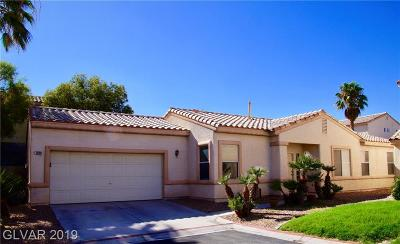 Las Vegas Single Family Home For Sale: 7829 Strong Water Court