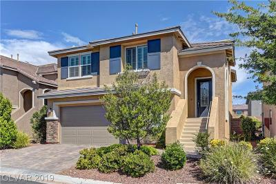 Clark County Single Family Home For Sale: 10504 Galleon Peak Lane
