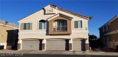 North Las Vegas Condo/Townhouse For Sale: 6612 Lavender Lilly Lane #1