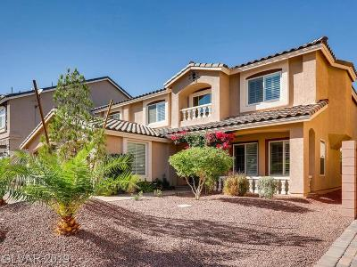 Las Vegas Single Family Home For Sale: 6376 Mount Palomar Avenue