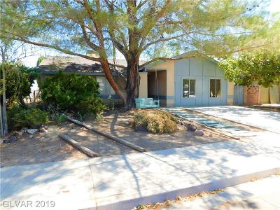 Boulder City Single Family Home For Sale: 1422 Bronco Road