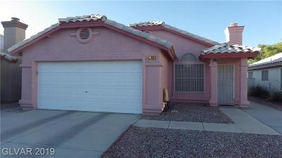 Centennial Hills Single Family Home For Sale: 7140 Desert Clover Court
