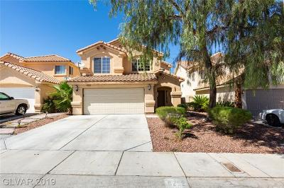 Las Vegas Single Family Home For Sale: 8252 Peaceful Canyon Drive