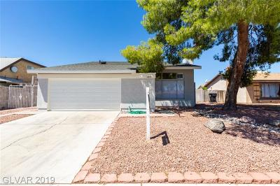 Spring Valley Single Family Home For Sale: 4815 Castle Rock Court